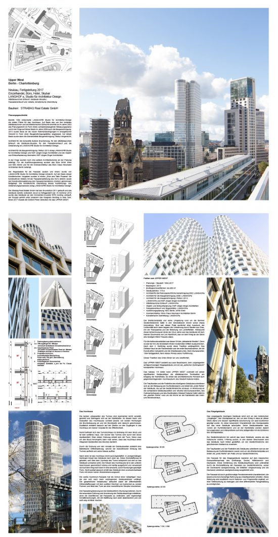 UPPER WEST/LANGHOF® Studio für Architektur-Design.