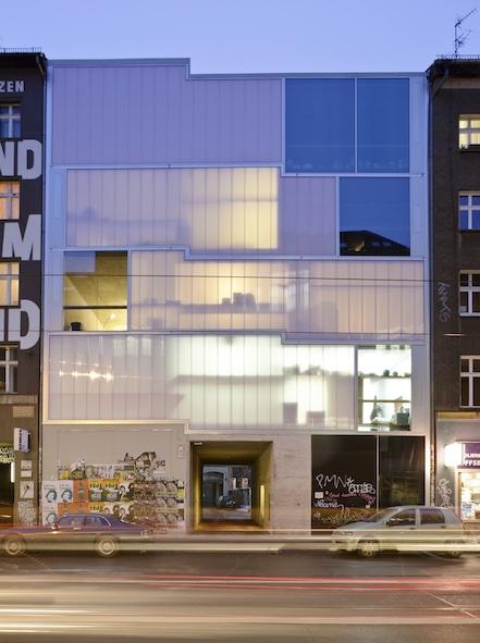 Preisträger 2012: Galeriegebäude (Foto: Nathan Willock)